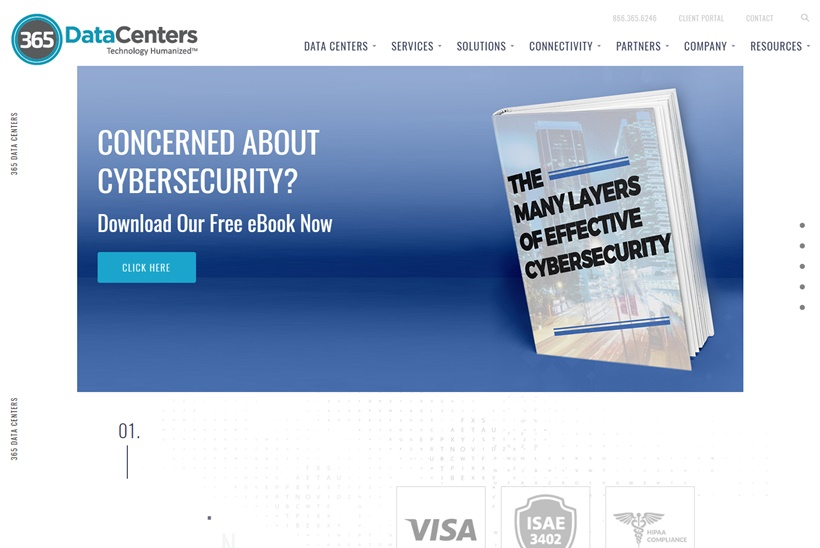 Data Center Services Provider 365 Data Centers Launches Cyber Security Solutions