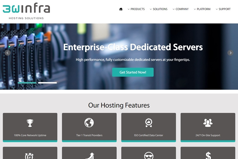 'Pure-play' IaaS Hosting Provider 3W Infra Adds 1,000 Servers in 6 Months