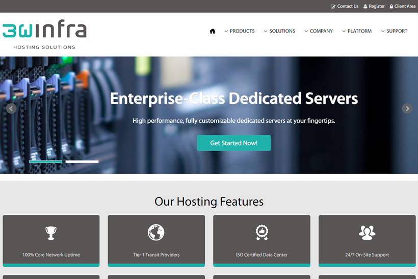 IaaS Hosting Company 3W Infra Announces New Dedicated Server Options for Smaller Businesses and Managed Cloud Companies