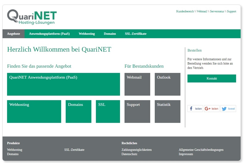 PaaS Company Jelastic Announces German Host QuariNET as Official Hosting Partner