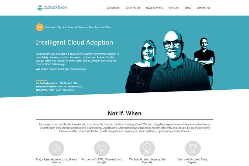 Aaron M. Painter Joins Software-enabled Cloud Services Provider Cloudreach