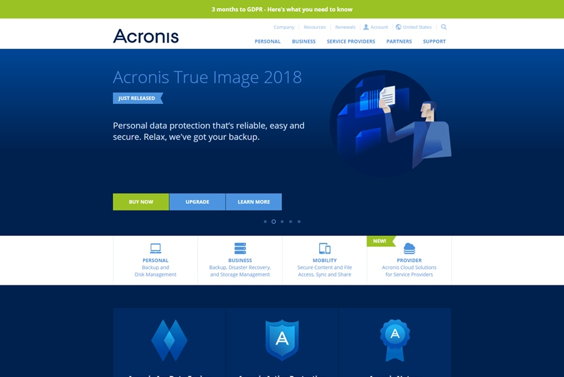 Hybrid Cloud IT Data Protection Company Acronis Partners with Google Cloud