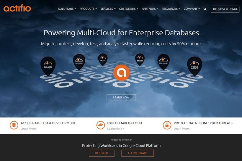 DaaS Platform Provider Actifio Extends Google Cloud Partnership