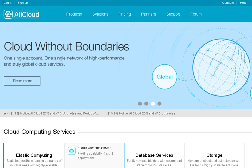 Web Hosting News - Cloud Giant Alibaba Gears Up for Cloud