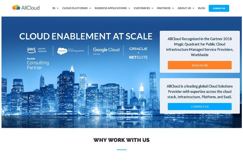Salesforce Services Provider AllCloud Receives $7 Million Investment