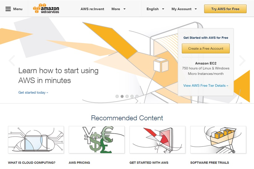 Web Hosting News - Cloud Provider Amazon Web Services Launches AWS