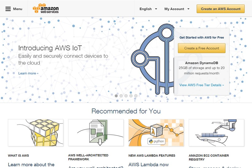 Web Hosting News - Cloud Giant AWS and Management Consulting