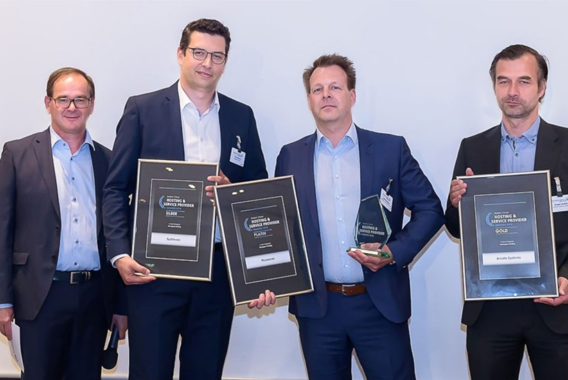 Global IT Specialist Arvato Systems Recognized at the 2018 Hosting and Service Provider Awards