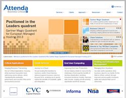 ... in the Gartner Magic Quadrant for European Managed Hosting 2013