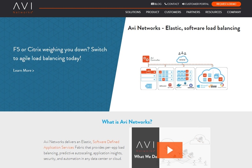 Application Networking Company Avi Networks Leverages Microsoft Azure