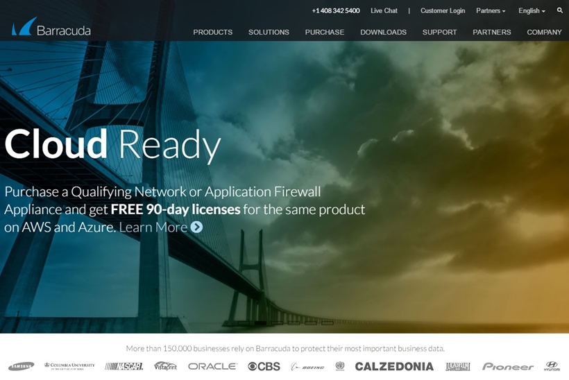 Security, Application Delivery and Data Protection Solutions Provider Barracuda Networks Expands Cloud Ready Program