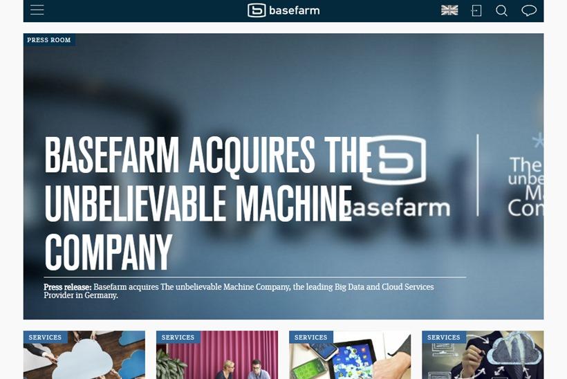 Managed Services Provider Basefarm Acquires Big Data and Cloud Services Provider *um