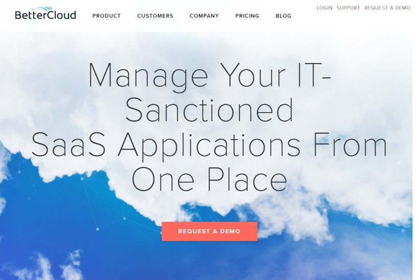 SaaS Management Software Provider BetterCloud Suggests SaaS App Use Up a Third