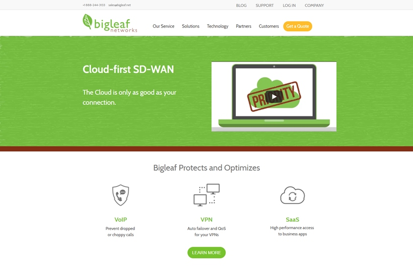 Intelligent Networking Services Provider Bigleaf Networks Announces Cloud Access Network Expansion