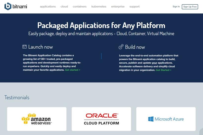Application Automation Platform Provider Bitnami and Kubernetes Management Platform Provider StackpointCloud Form Partnership