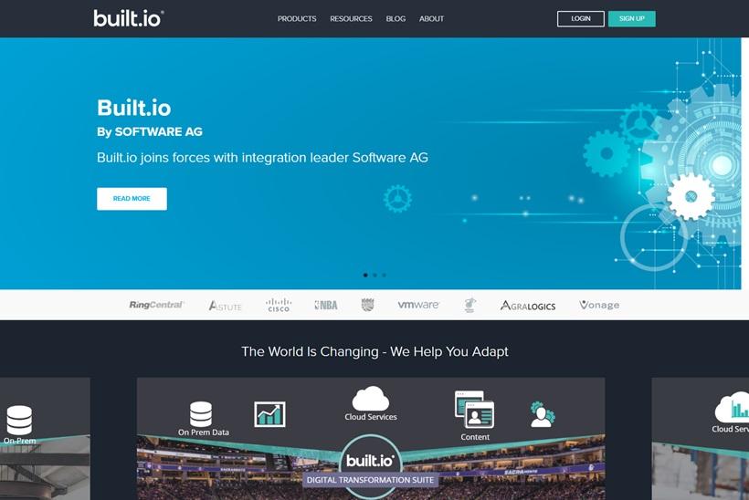 Digital Transformation and Intelligence Platform Provider Software AG Acquires Cloud Integration Platform Built.io