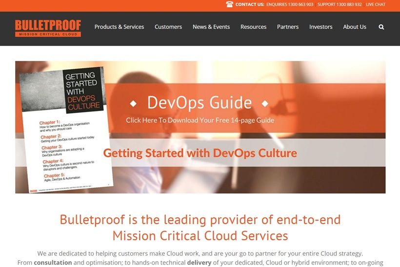 Cloud Services Company Bulletproof to Acquire AWS Cloud Solutions Provider Cloud House