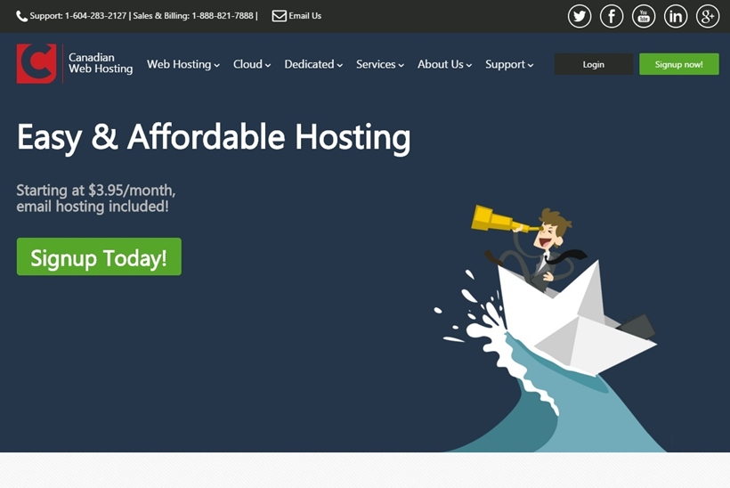Web Host and Cloud Services Provider Canadian Web Hosting Makes Private Cloud Hosting Publically Available