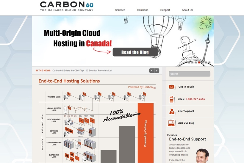 Managed Cloud Hosting Services Provider Carbon60 Adds Team Members