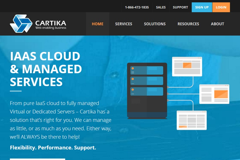 Application Hosting Provider Cartika Launches New EMaaS Option