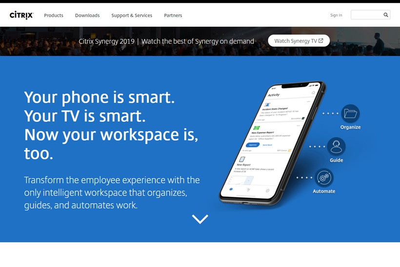 SaaS Solutions Provider Citrix and Cloud Giant Google Launch 'Citrix Workspace'