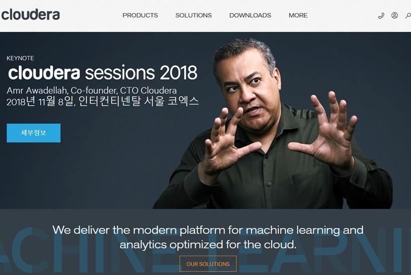 Machine Learning Platform Provider Cloudera and Data Management Platforms Provider Hortonworks Merge