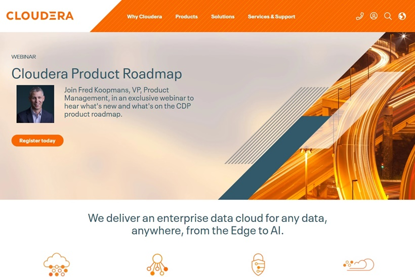 Enterprise Cloud Company Cloudera Makes Data Platform Available on Google Cloud