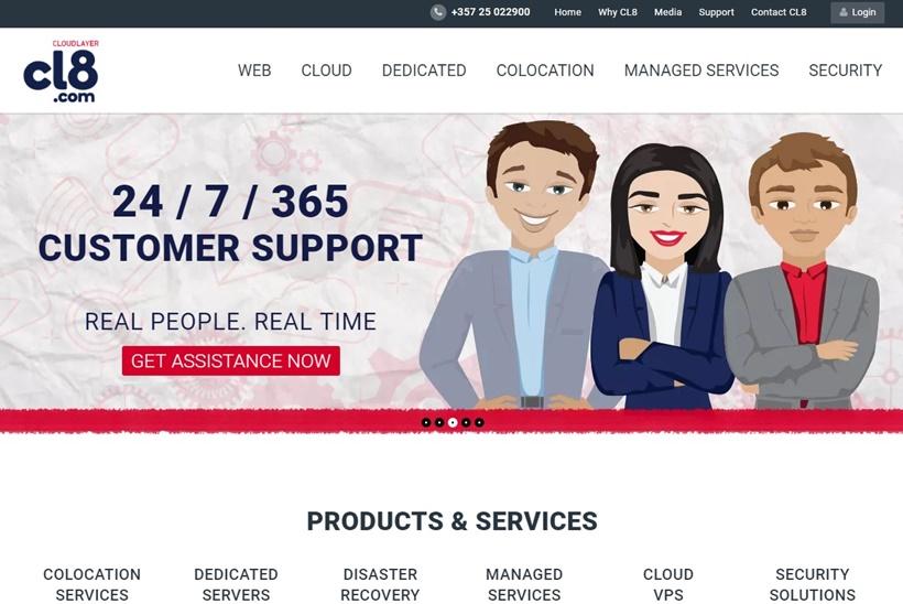 Cyprus-based CloudLayer8 Announces Public Cloud Launch