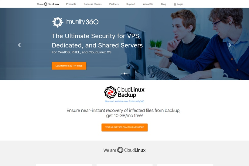 Cloud OS Provider CloudLinux Announces Imunify360 Integration with DirectAdmin Control Panel