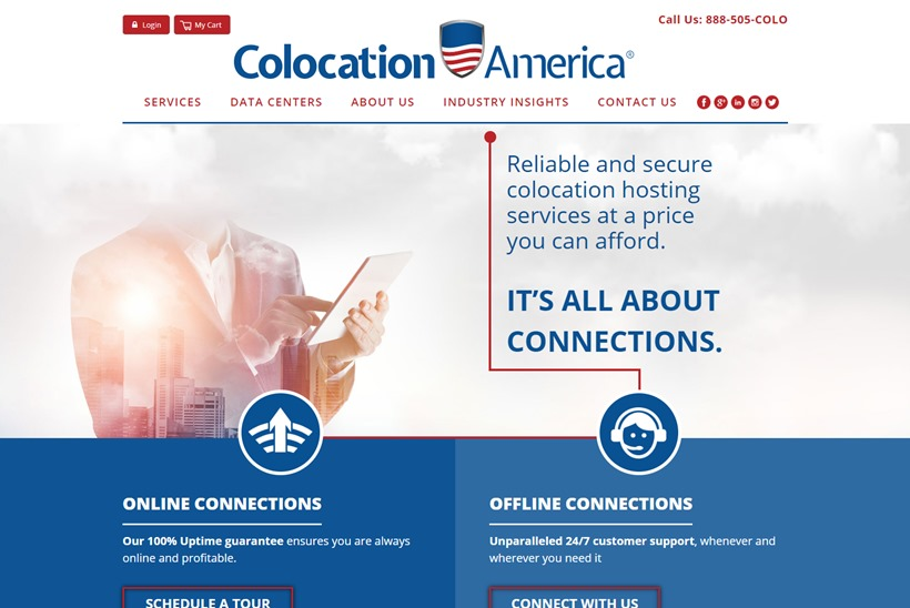 Data Center Services Provider Colocation America Partners with Managed IT Services Provider NTG