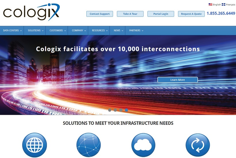 Data Center and Interconnection Solutions Provider Cologix Now Offers AWS Via Data Center in Vancouver
