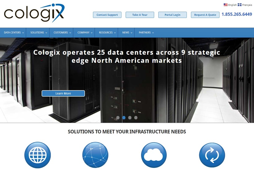 Colocation and Interconnection Services Company Cologix Achieves Tier III Certification for Data Center
