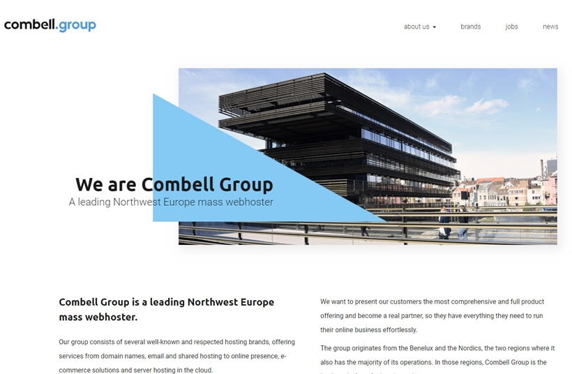 Private Equity Firm HgCapital Invests in Web Hosting Provider Combell Group