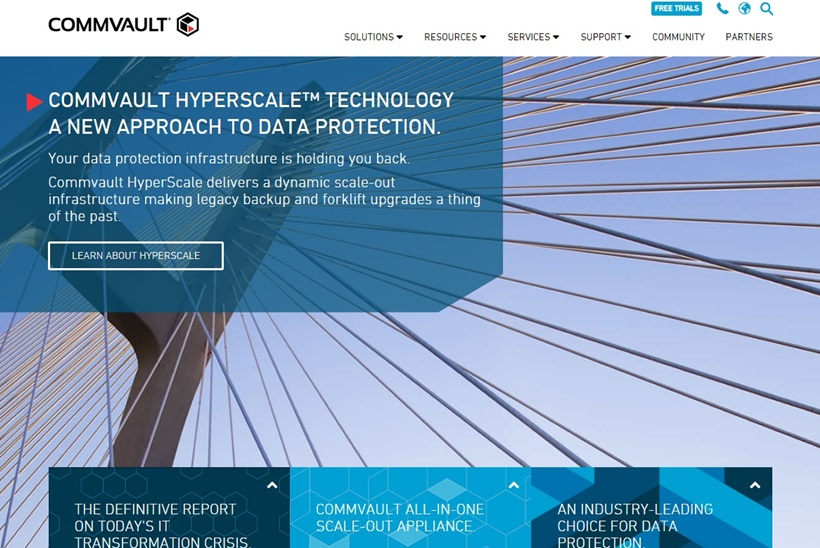 Data Backup and Recovery Specialist Commvault and Cloud Giant Alibaba Cloud Form Partnership