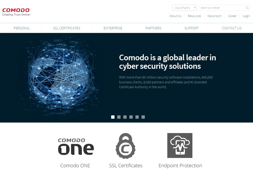 Web Hosting News - Cybersecurity Solutions Provider Comodo