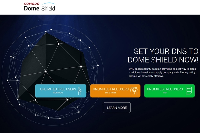 Cybersecurity Solutions Provider Comodo Makes Comodo Dome Shield Available Free of Charge