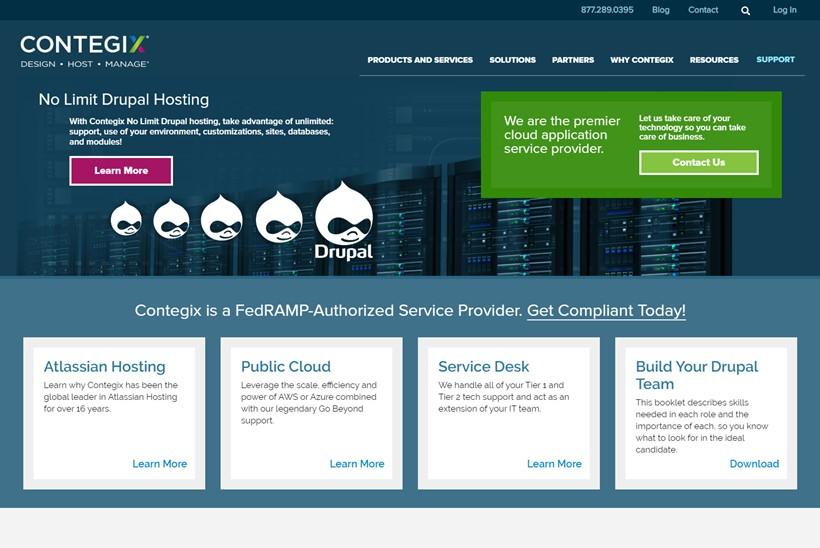 Managed Services Provider Contegix Announces Launch of CMS Solutions on BlackMesh Platform