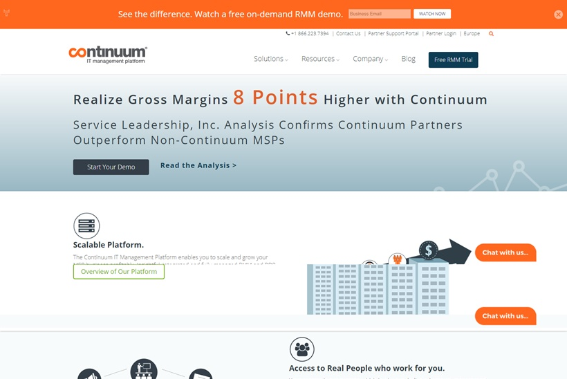 Managed Services Provider Continuum Inks Distribution Agreement with Software Company Portland Europe