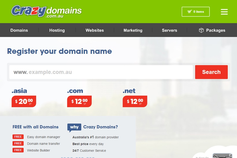 Domain Registrar and Web Host Crazy Domains Announces New Backup Services