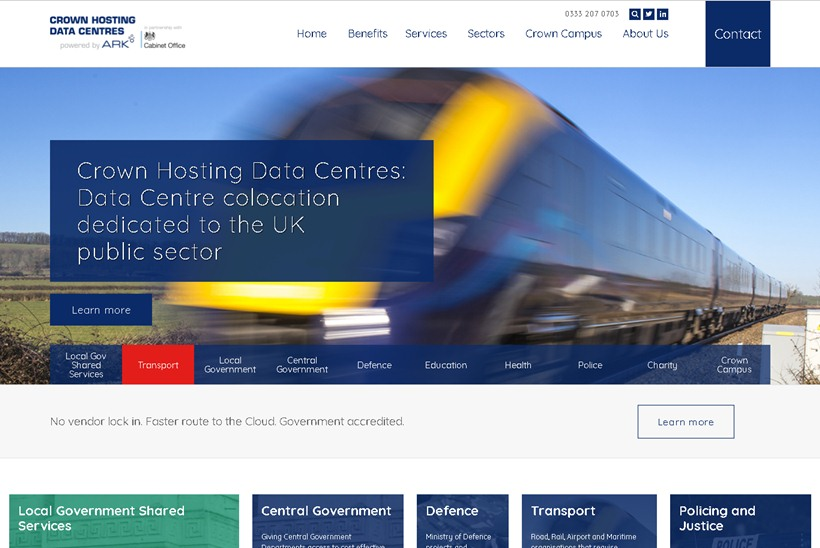 UK Government Awards Crown Hosting Data Centres Major Contract