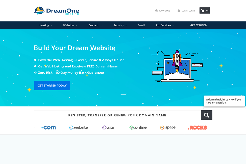 Web Host Dream One Hosting Announces 30-day Free Trial for New Customers