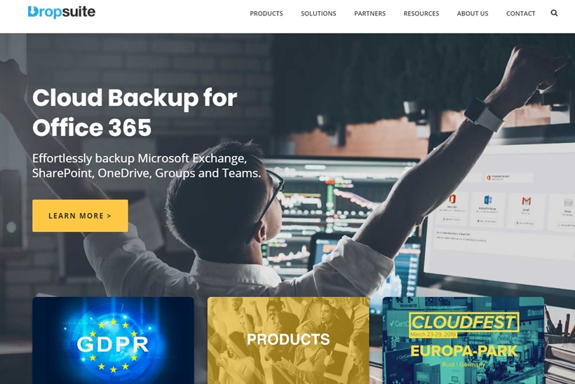 European Hosting Company STRATO Partners with Dropsuite