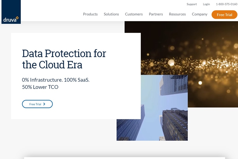 Cloud Data Protection and Management Company Druva Receives $130 Million Investment