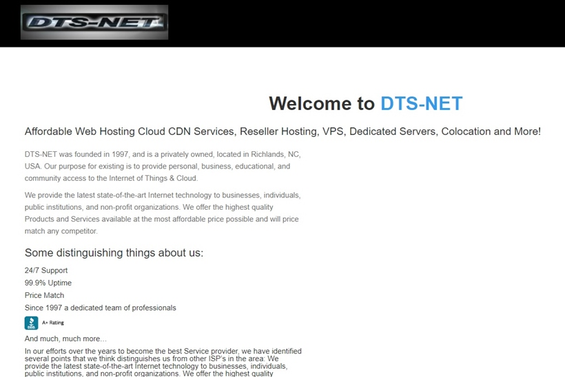 Hosting Services Provider DTS-NET Announces Hosting Products to Coincide with Windows Server 2016 Launch