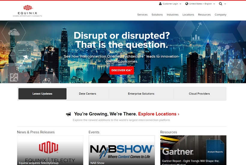 Supply Chain Solutions Company ContentBridge Moves to Equinix's Cloud