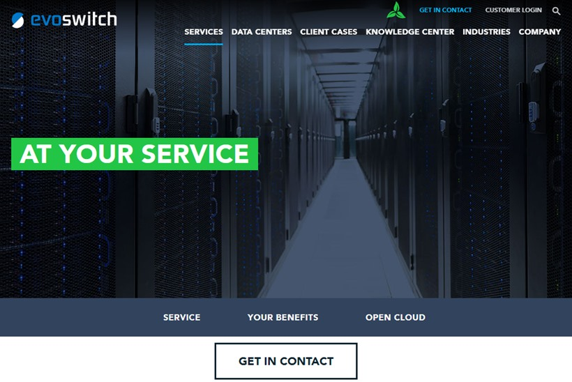 International Network Service Provider RETN Upgrades Network at EvoSwitch's Colocation Data Center in Amsterdam