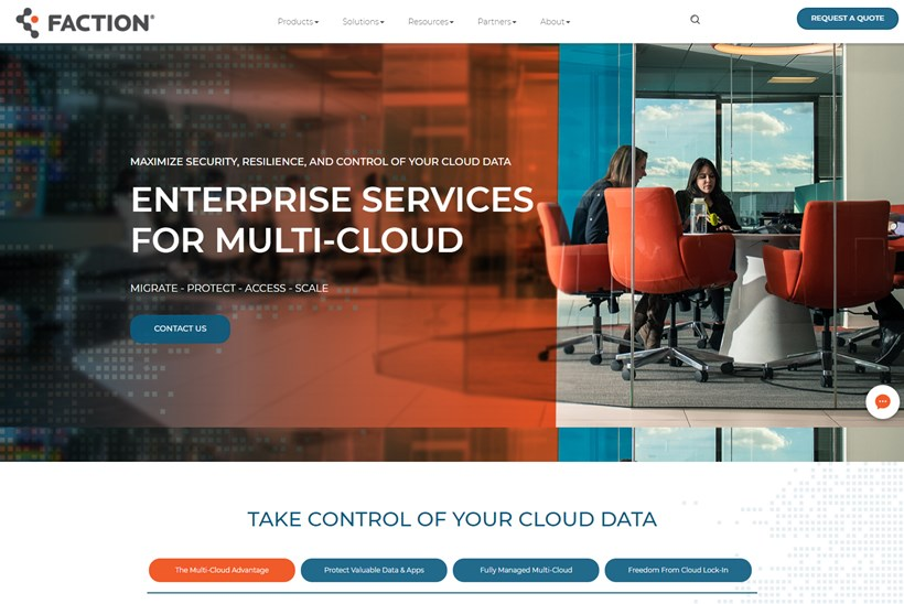 Managed VMware Cloud on AWS Provider Faction Receives $14 Million in Financing