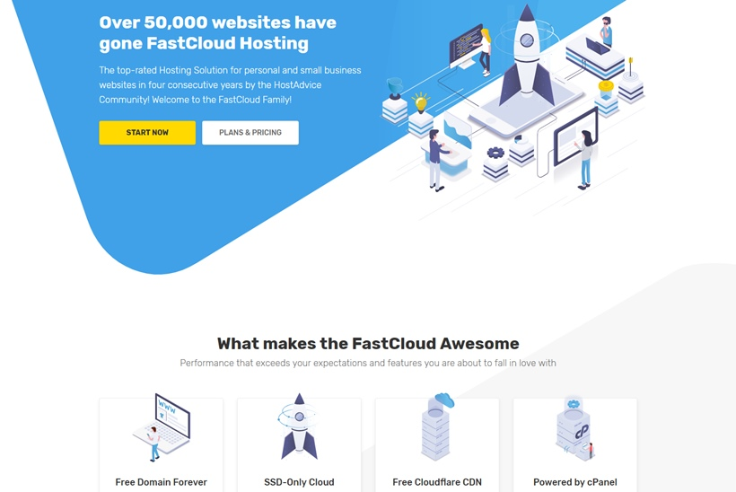 Simple Cloud Hosting Company FastComet Announces New Brand Identity and Website