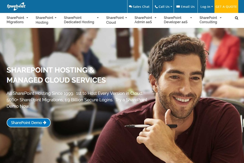 Hosting and Managed Cloud Services Provider Fpweb.net Extends SharePoint Migration Services