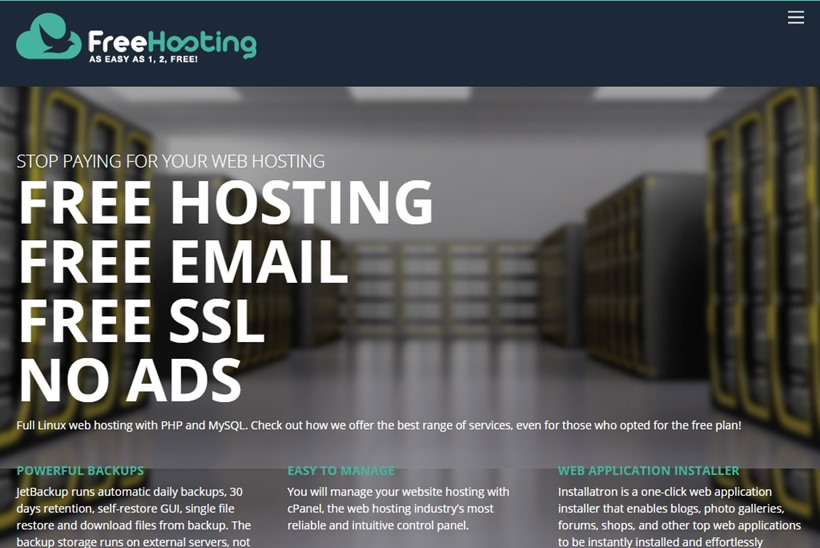 Website and Email Hosting Provider FreeHosting Announces 'Email On Demand' Service